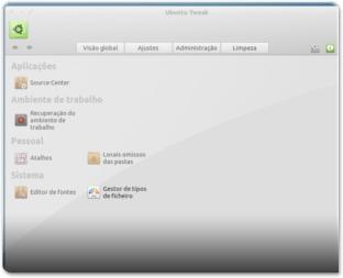 Ubuntu-Tweak - AdministraçãoM