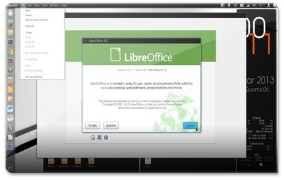 LibreOffice4 no Ubuntu