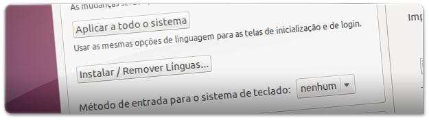 6 - instalar ou remover linguasM
