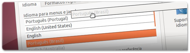 8 - arrastar idiomas para dar prioridadeM