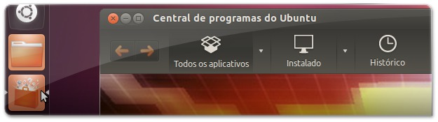 3 Abrir Central de programas do UbuntuM