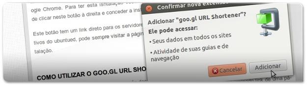 A instalar o Goo.gl  URL shortner Ubuntu Linux