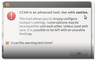 CCSM is an advanced tool, Use with cautionM