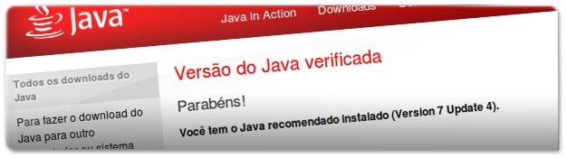 Java - verificação