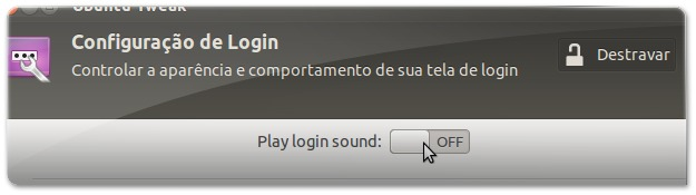 Desligue o som de arranque do Ubuntu!