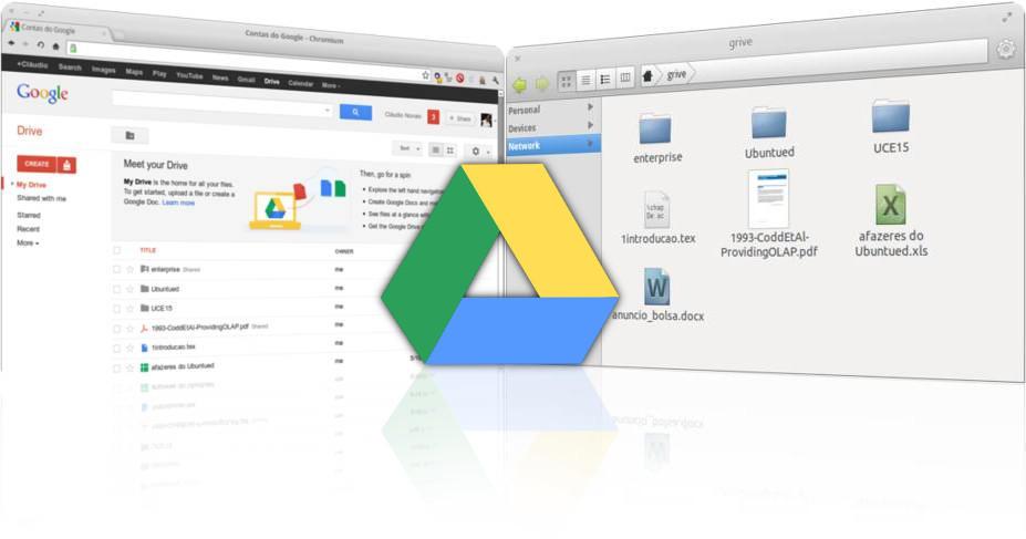 Acesse o Google Drive através do seu gestor de ficheiros | Ubuntued