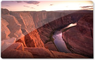 Horseshoe Bend SunsetM