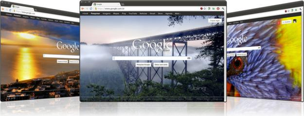 Como ter o Wallpaper do Bing na página do Google [Chrome]