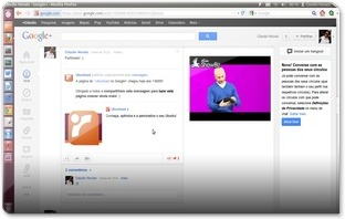 A mover um video no Google Plus