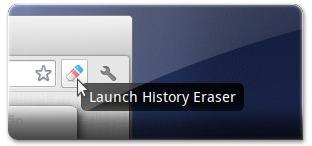 Botão do History Eraser