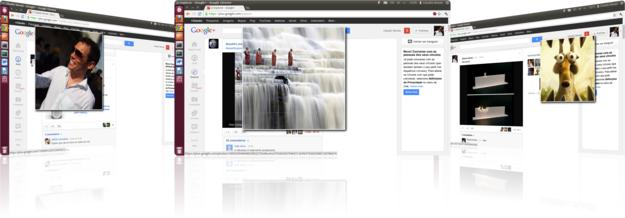 Photo Zoom Google Chrome extension for google plus