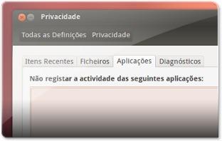 Privacidade - Aba 3