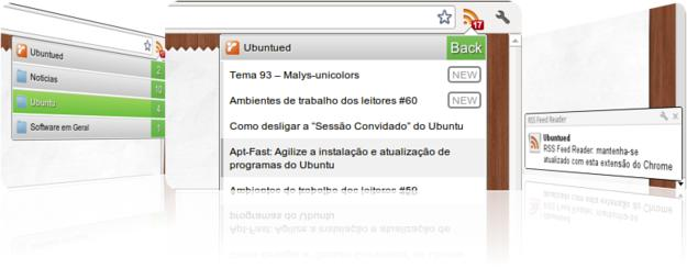 RSS feed Reader no Google Chrome