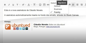 Blank Canvas Gmail SignatureSLIDER