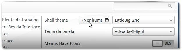 gnome-tweak-tool options