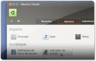 Ubuntu-Tweak - Ajustes