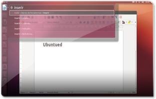 LibreOffice compatível com o Unity e HUD