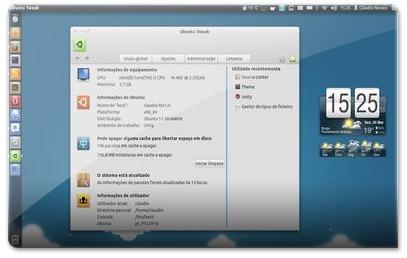 Ubuntu-Tweak - Visao Global