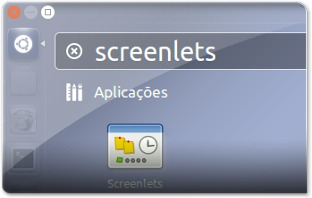 Unity a Abrir as screenlets