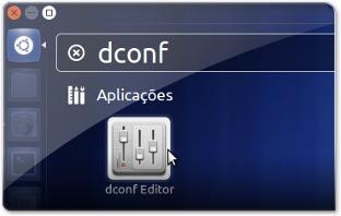Unity a abrir o DConf-Editor