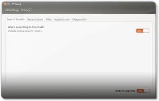 A desligar/ligar os acessos à internet via Lentes