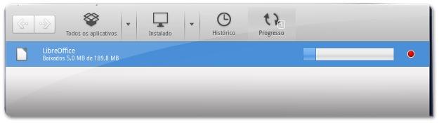 A instalar toda a suite LibreOffice