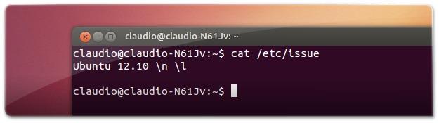 21 - Nome da distribuição através do ficheiro -etc-issueM