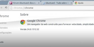 Google Chrome 24 no UbuntuM