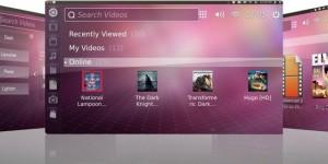 Ubuntu TV com interface Phone OSSlider