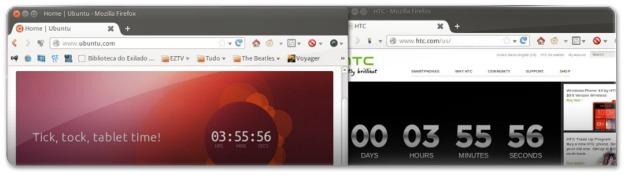 Contadores do ubuntu e htc