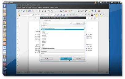 Dicionario de Sinónimos do LibreOffice - 100M