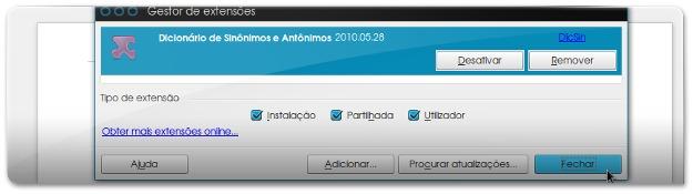 Dicionario de Sinónimos do LibreOffice - 6M