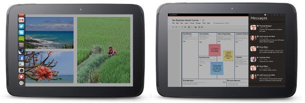 Tablet Ubuntu com Unity