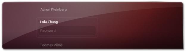 login no Ubuntu para tablets