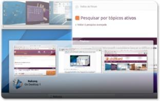 Janelas em Grupo no KDE 4.10