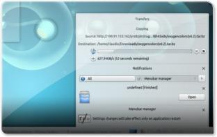 Notificações KDE 4.10