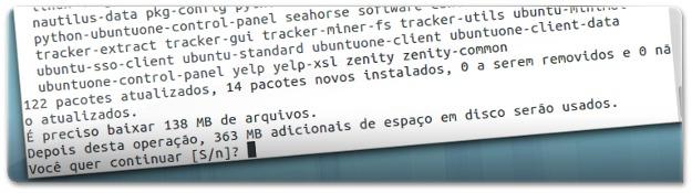 A atualizar o sistema para o Gnome 3.8