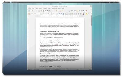LibreOffice 4 no Ubuntu Gnome 13.04