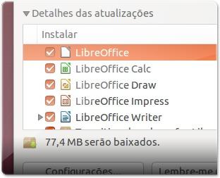 Atualização do LibreOffice 4.0.2