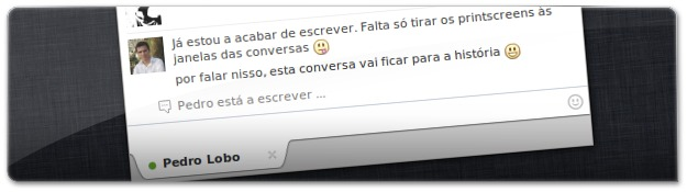 Conversa do Facebook Messenger