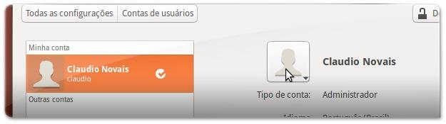 3 Configurações das contas do Ubuntu