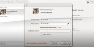 Alterando a senha de usuário do Ubuntu
