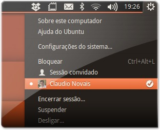 Avatar personalizado na conta do Ubuntu