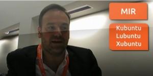 Mark Shuttleworth e o Mir e sabores Ubuntu