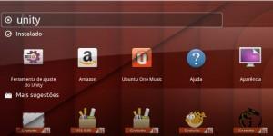 Unity COM e SEM desfocagem no Ubuntu 13.04