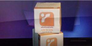 Cubo de atalhos do Unity sobre o Cubo de comandos do Ubuntued