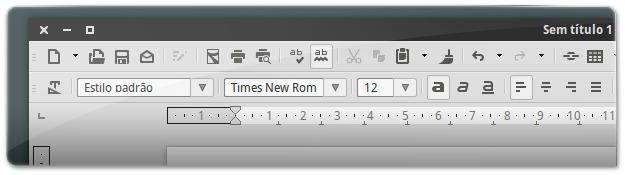 LibreOffice com os novos Flat Icons