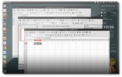 Suite Libre Office no Ubuntu com novos ícones