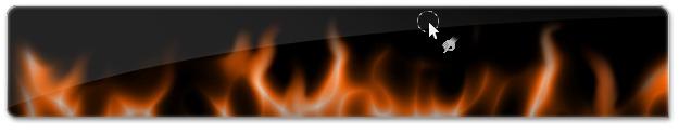 Efeito de chamas através da ferramenta de Borrar