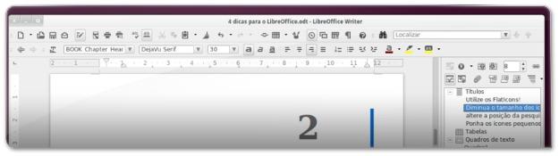 4 Dicas para melhorar a Interface do LibreOffice